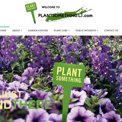LIFGA Online Advertising, Long Island Flower Grower Association, Plant Something Long Island